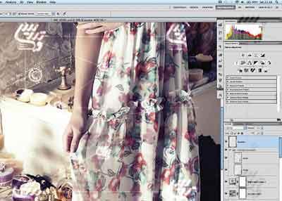 آموزش فتوشاپ روتوش عکس با تغییر سایه روشن ها